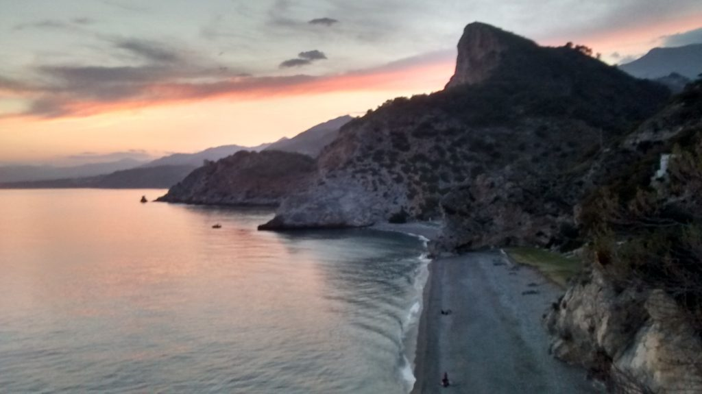 Beach in south Spain.Villa for rent in Jete, Andalusia