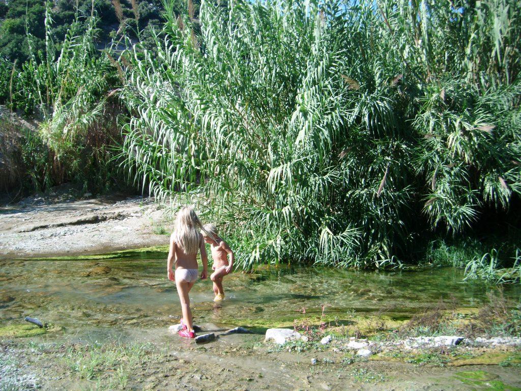Nice trek in the Green River, Rio Verde, of Jete. Colina Tropical