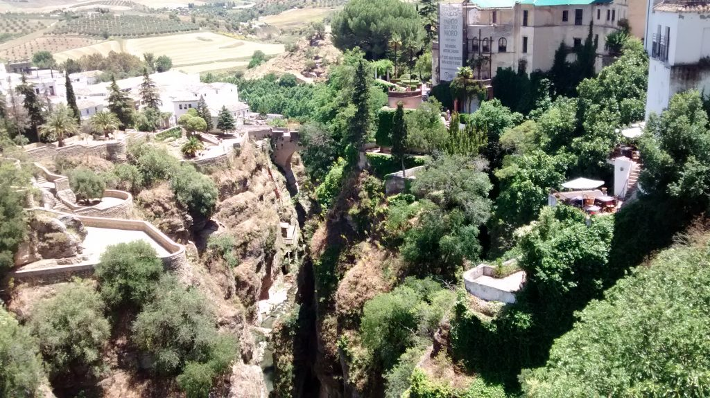 Ronda, Spain, Andalusia. Guesthouse Colina Tropical