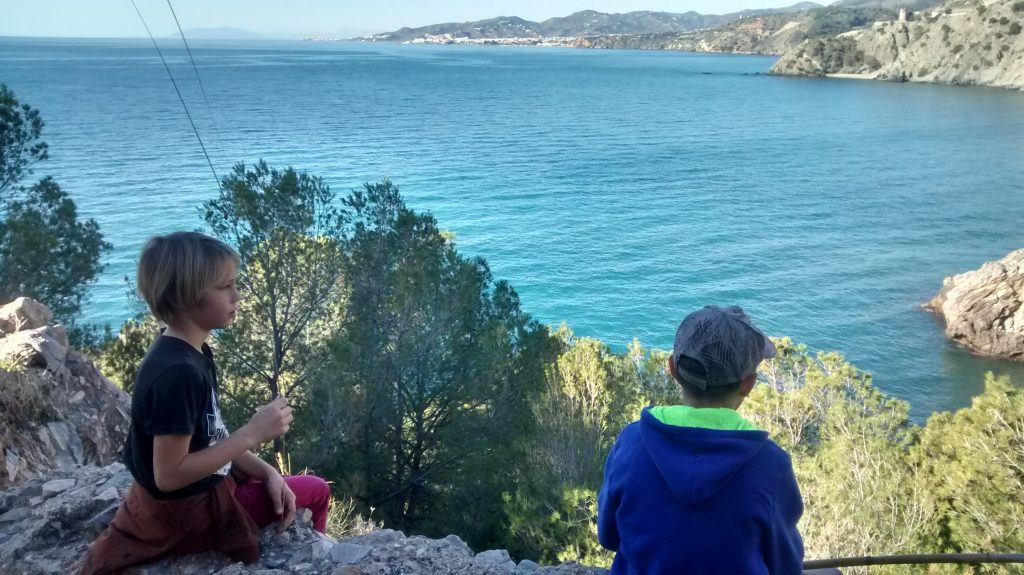 Hiking on the Tropical Costa, Andalucia, Villa Colina Tropical